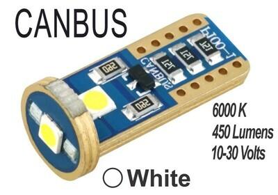 Muelita LED 3 Led Canbus 2 pcs Blanca