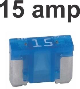 Fusibles Micro 100 pcs 15 Amp