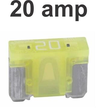 Fusibles Micro 100 pcs 20 Amp