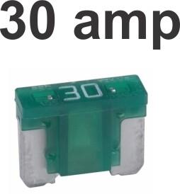 Fusibles Micro 100 pcs 30 Amp