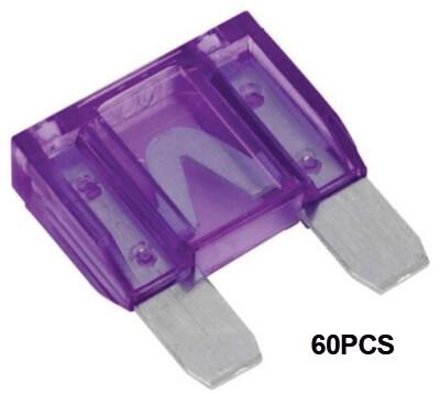 Maxi Fusibles 100 Amp 60 Pcs