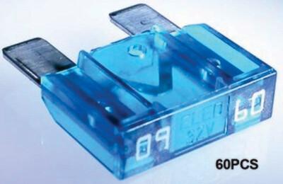 Maxi Fusibles 60 Amp 60 Pcs