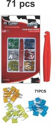 Kit De Fusibles C Pinza 71 Piezas Mini