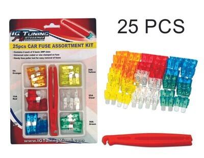 Kit De Fusibles C Pinza 25 Pcs