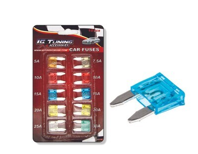 Kit Fusibles Varios Amps 10 Pcs