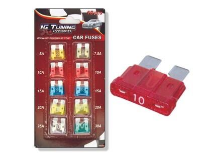 Kit Mini Fusibles Varios 10 Pcs
