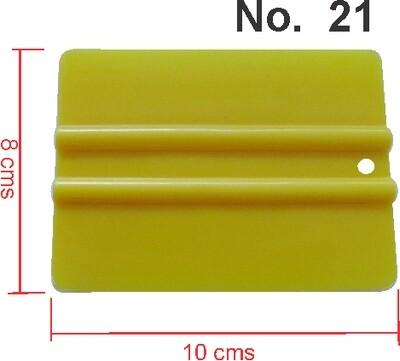 Paletas Plasticas 10X8 Cms Nro 21