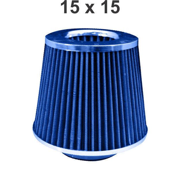 Filtro Conico 15X15 Blue