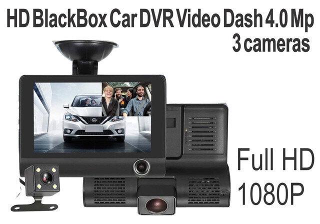 Camara Vehiculo 4.0 Mp con 3 camaras DVR