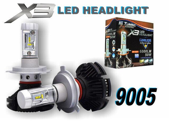 Headlight X3 9005