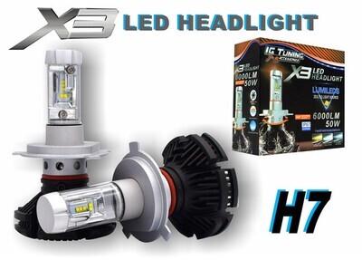 Headlight X3 H7