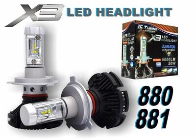 Headlight X3 880-881