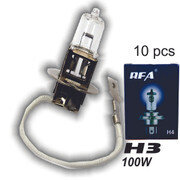 Bombillo H3 100W 10 Pcs