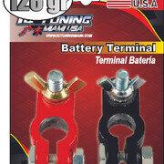 Bornes Bateria 126gr Mariposa 2 Pcs