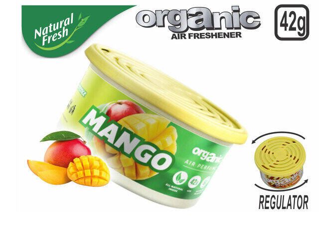 Organic Can Pure With Lid Mango 42 G