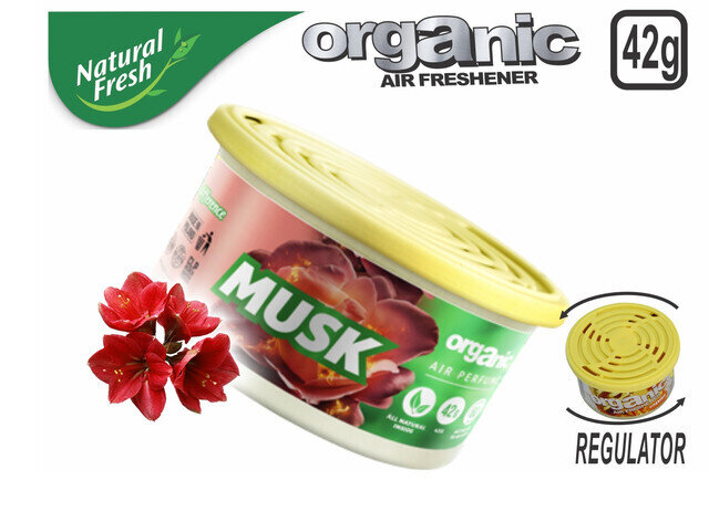 Organic Can Pure With Lid Musk 42 G
