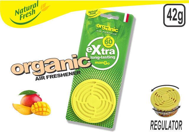 Organic Can With Header Mango 42G