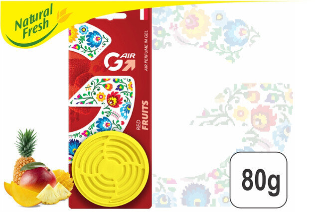G- Air Gel Red Fruits 80g Pure