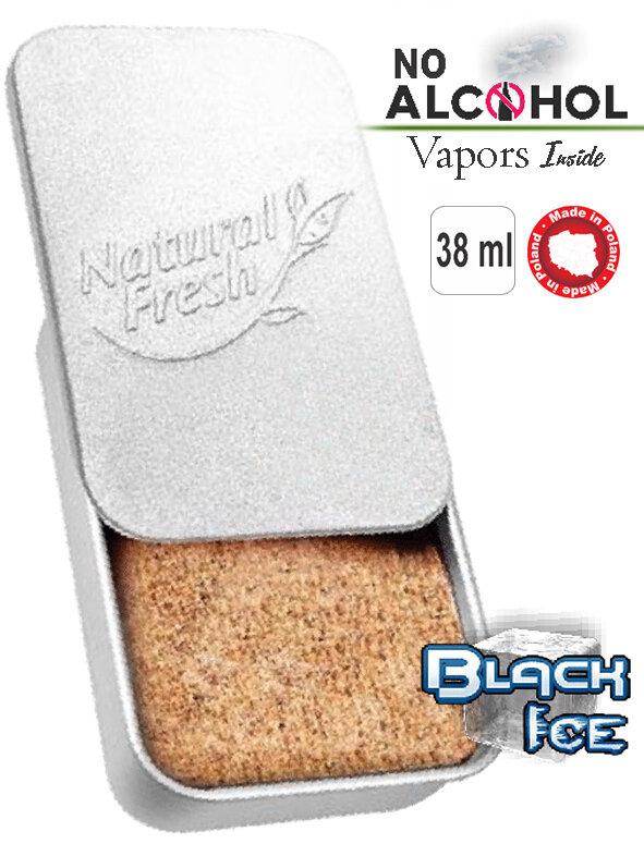 Metal box Organic 38ml Black
