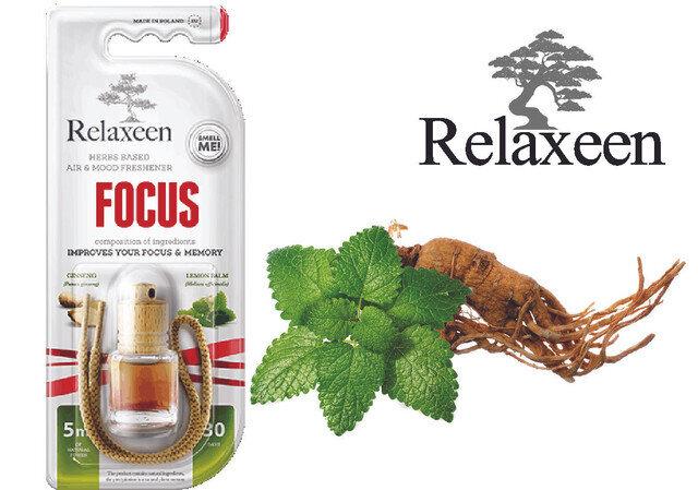Relaxeen Mini Bottle Focus 5 ml