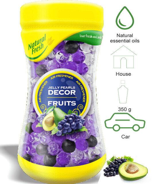 Jelly Perlas Decor Frutas 350ml