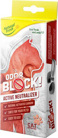 Odor Block Carbon Box Cat