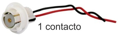 Conector De Bombillo De 1 Cont
