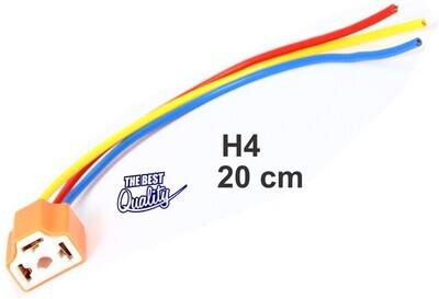 Conector H4 Ceramico 1 Pcs 20 Cms Grueso