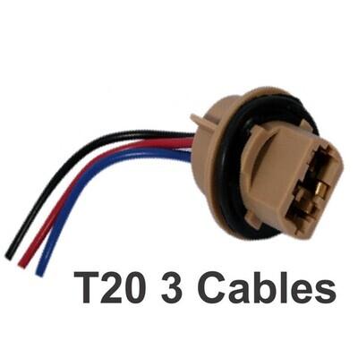 Conector T20  3 Cables 1 Pcs