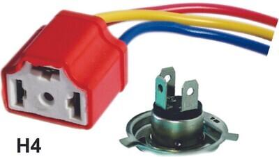 Conector H4 Ceramico 1 Pcs
