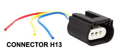 Conector Bombillo H13 1 Pcs
