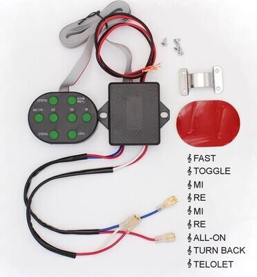 Controlador Electronico de Pitos y bocinas