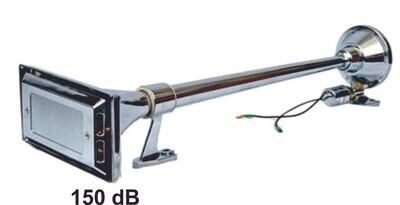 Pito Trompeta De 74 Cm Cromo