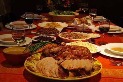 Thanksgiving Dinner for 6-8