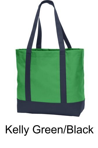Elf Day Tote - Classic Green/Navy