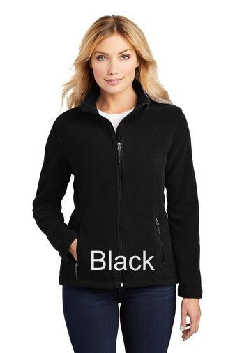 Ladies Fleece Jacket - Black