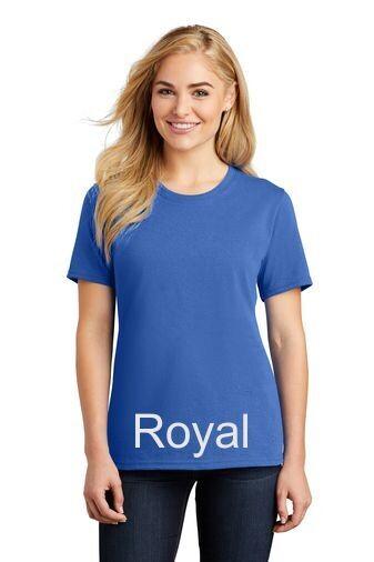 Ladies Short Sleeve Tee - Royal