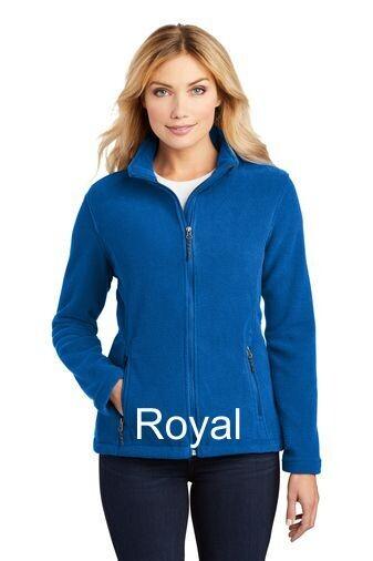 Ladies Fleece Jacket - Royal