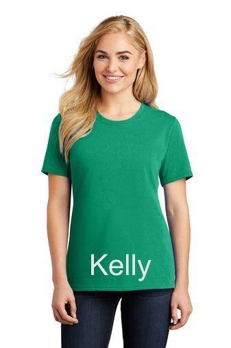 Ladies Short Sleeve Tee - Kelly