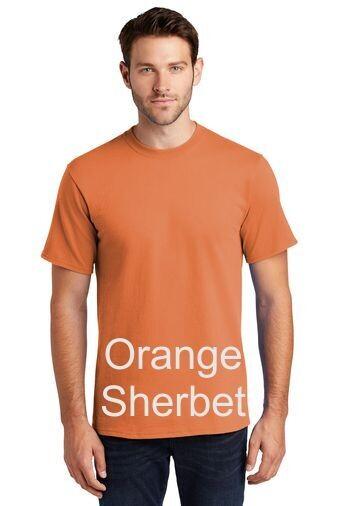 Men's Short Sleeve Tee - Orange Sherbet