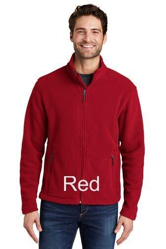 Men's Fleece Jacket - Red