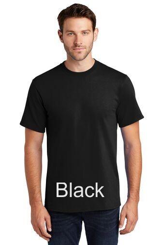 Men's Short Sleeve Tee - Black