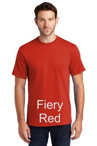 Men's Short Sleeve Tee - Fiery Red