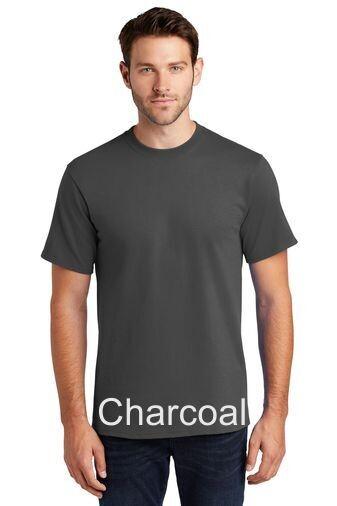 Men's Short Sleeve Tee - Charcoal