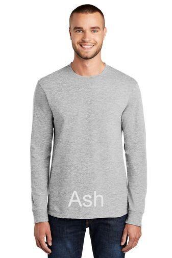 Men's Tall Long Sleeve Tee - Ash