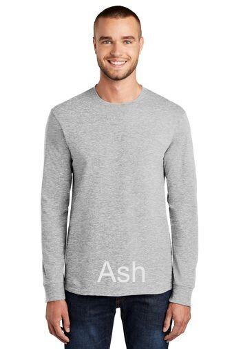 Men's Long Sleeve Tee - Ash