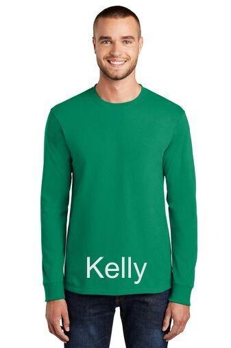 Men's Long Sleeve Tee - Kelly