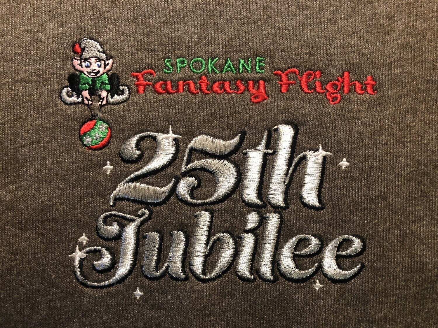 Embroidery Sample - INCLUDED ON ALL ITEMS