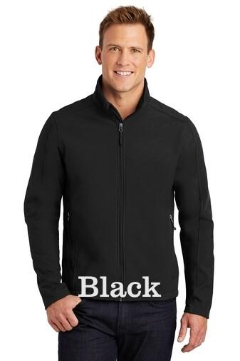 Men's Soft Shell Jacket - Black