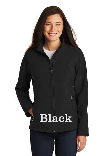 Ladies Soft Shell Jacket - Black